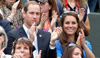 Die Royals beim Tennis: Prince William und Kate Middleton feuern in Wimbledon den Schotten Andy Murray an