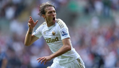 Rang 5: Michu von Swansea City (18 Tore)
