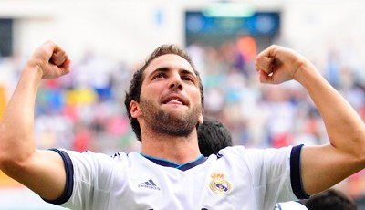 Rang 8: Gonzalo Higuain von Real Madrid (16 Tore)