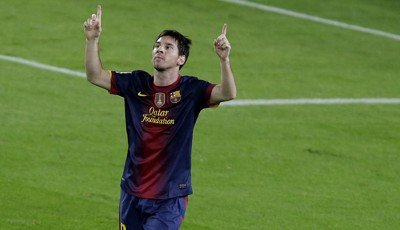 Rang 1: Lionel Messi vom FC Barcelona (46 Tore)