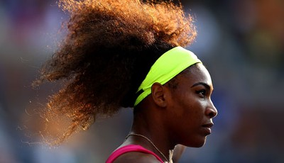 Auch locker weiter: Serena Williams