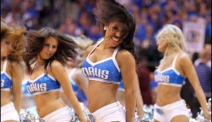 Das Dance Team der Dallas Mavericks in Action!
