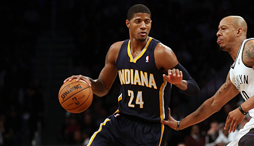Small Forward/Shooting Guard: Paul George (Indiana Pacers, eine Nominierung)