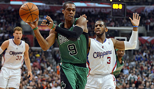 Die Starter im Osten - Point Guard: Rajon Rondo (Boston Celtics, 924.180 Stimmen, vier Nominierungen)