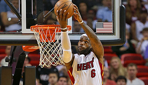 Small Forward: LeBron James (Miami Heat, 1.583.646 Stimmen, neun Nominierungen)