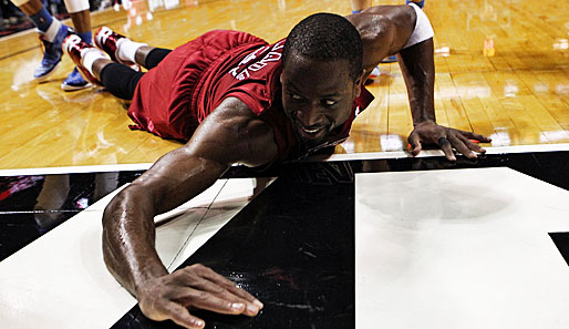 Shooting Guard: Dwyane Wade (Miami Heat, 1.052.310 Stimmen, neun Nominierungen)