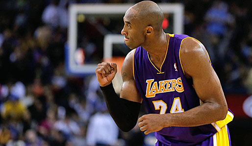 Shooting Guard: Kobe Bryant (Los Angeles Lakers, 1.591.437 Stimmen, 15 Nominierungen)