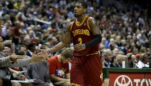 Nach LeBron James' Abgang soll Kyrie Irving der neue Franchise Player der Cavaliers sein