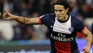 Rang 2: Edinson Cavani von Paris Saint-Germain (16 Tore)