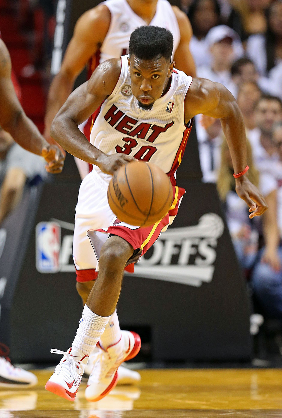Bank: Norris Cole (5,6 Punkte, 2,1 Assists)