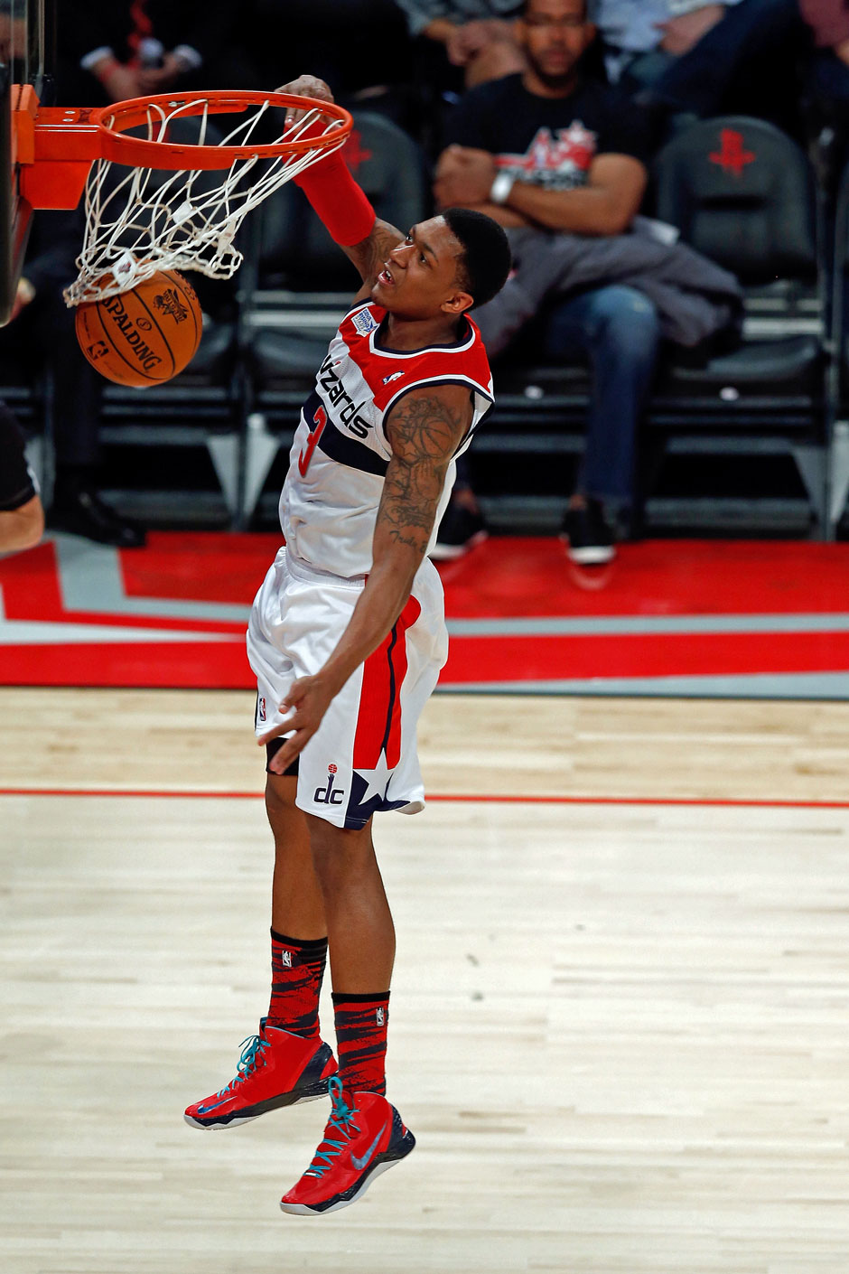 Shooting Guard: Bradley Beal (13,9 Punkte, 38,6 % Dreierquote)