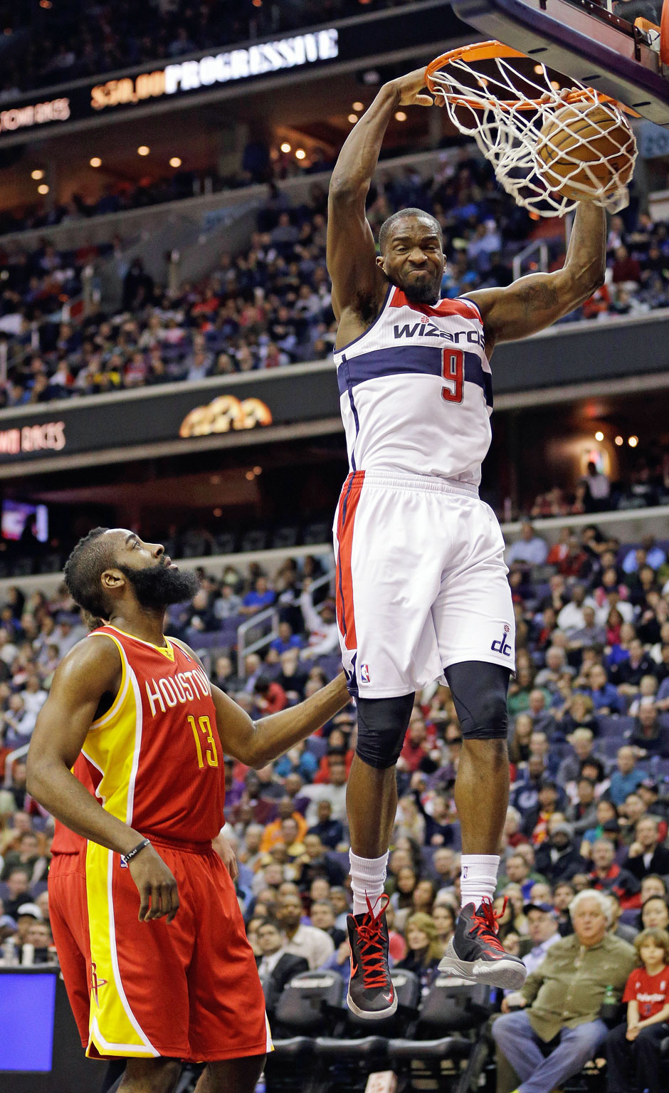 Bank: Martell Webster (Guard/Forward, 11,4 Punkte, 42,2 % Dreier)