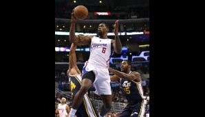Center: DeAndre Jordan (11,5 Punkte, 13,2 Rebounds, 2,2 Blocks)