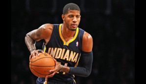 Small Forward: Paul George (24,2 Punkte, 6,2 Rebounds, 3,2 Assists)
