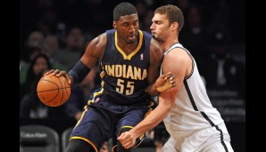 Center: Roy Hibbert (12,2 Punkte, 9,1 Rebounds, 4,3 Blocks)