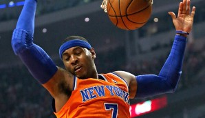 Small Forward: Carmelo Anthony (28,7 Punkte, 6,9 Rebounds)