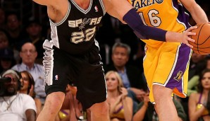 Center: Tiago Splitter (10,3 Punkte und 6,4 Rebounds)