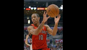 Shooting Guard: DeMar DeRozan (17,1 Punkte, 3,0 Assists, 3,5 Rebounds)
