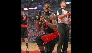 Power Forward: Amir Johnson (10,7 Punkte, 7,6 Rebounds)