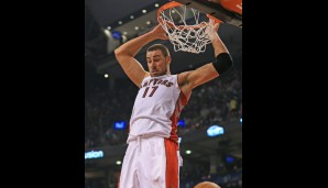 Center: Jonas Valanciunas (9,6 Punkte, 6,9 Rebounds, 1,1 Blocks)