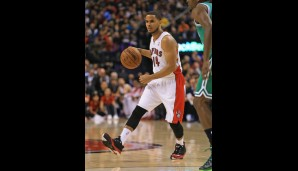 Bank: D.J. Augustin (Point Guard, 2,3 Punkte, 1 Assist)