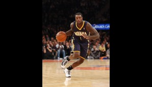 Shooting Guard: Lance Stephenson (12,4 Punkte, 6,4 Rebounds, 5 Assists)
