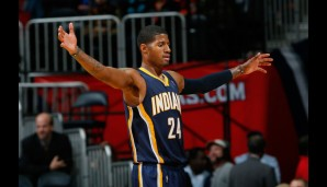 Small Forward: Paul George (24,1 Punkte, 5,6 Rebounds)
