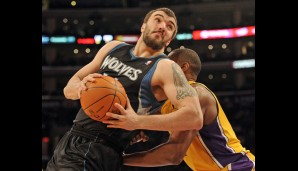 Center: Nikola Pekovic (15,7 Punkte, 8,9 Rebounds)