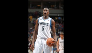 Rookies: Gorgui Dieng (Center, 1,6 Punkte, 2,3 Rebounds)