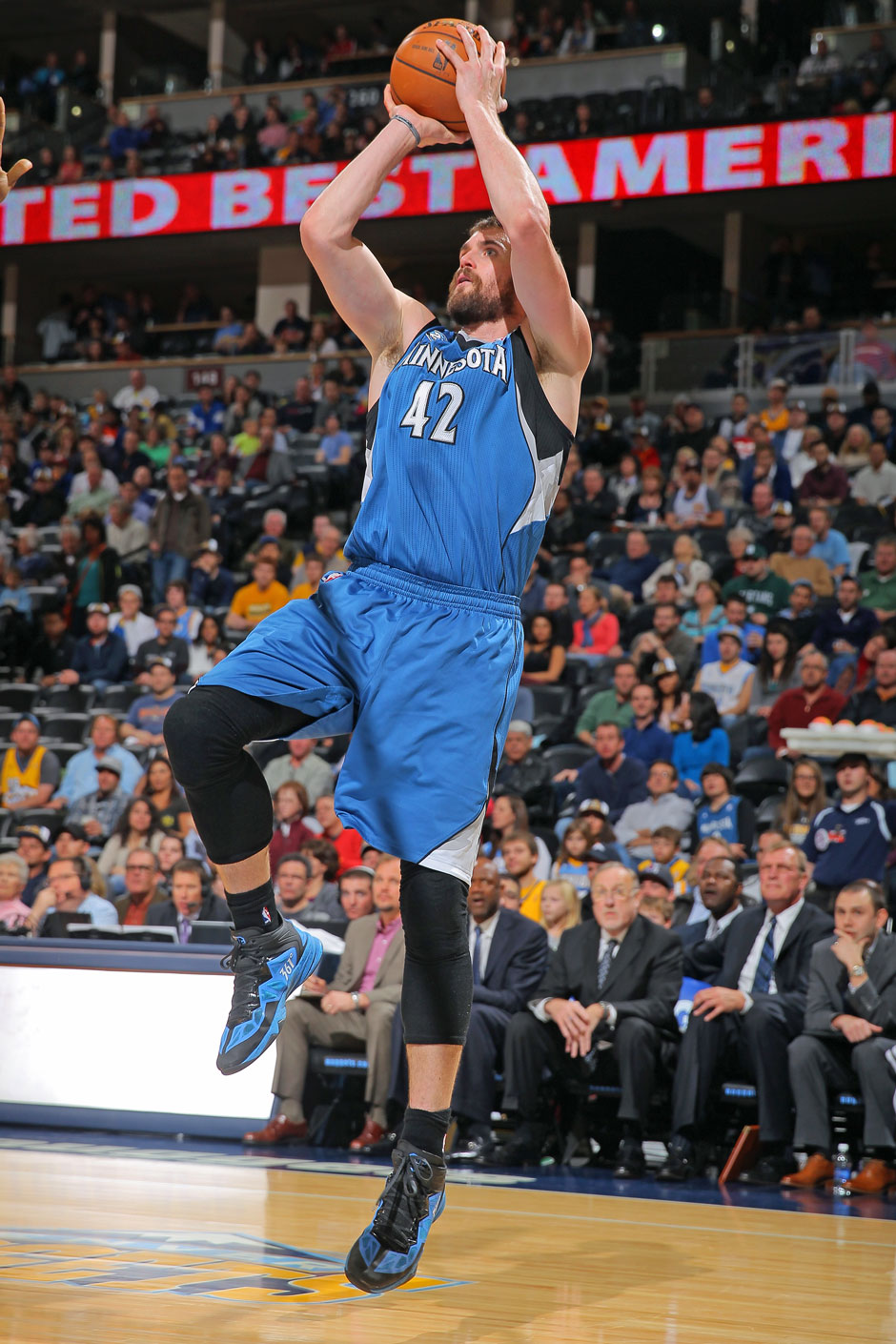 Power Forward: Kevin Love (23,7 Punkte, 13,6 Rebounds)
