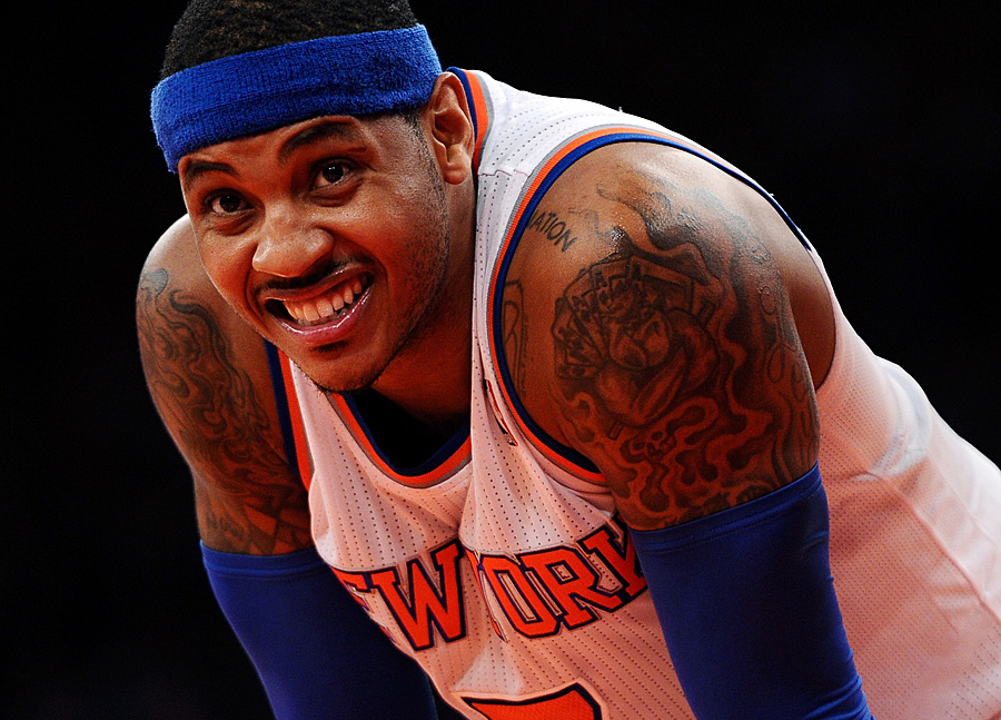 Small Forward: Carmelo Anthony (26,3 Punkte, 9,9 Rebounds)