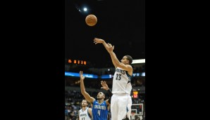 Shooting Guard: Kevin Martin (19,7 Punkte, 3,4 Rebounds)