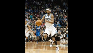 Small Forward: Corey Brewer (12,1 Punkte, 2,6 Rebounds)