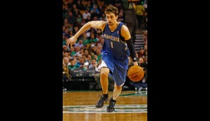 Alexey Shved (Point Guard, 3,4 Punkte, 1,1 Assists)
