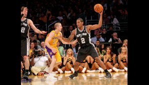 Small Forward: Kawhi Leonard (11,5 Punkte, 6,1 Rebounds)