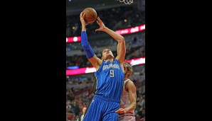 Center: Nikola Vucevic (Verletzt, 13,0 Punkte, 11,0 Rebounds, 1,1 Blocks)