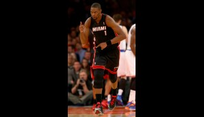 Center: Chris Bosh (16,2 Punkte, 6,7 Rebounds, 53 Prozent FG)