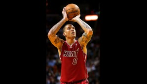 Michael Beasley (Small Forward, 9,4 Punkte, 3,8 Rebounds)