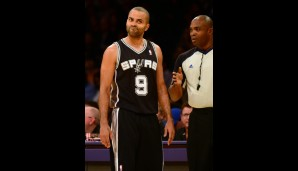 Point Guard: Tony Parker (17,9 Punkte, 6,3 Assists)