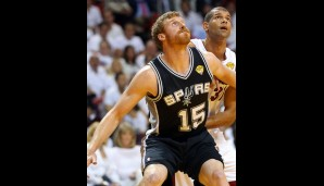 Matt Bonner (Power Forward, 47 Prozent 3FG)