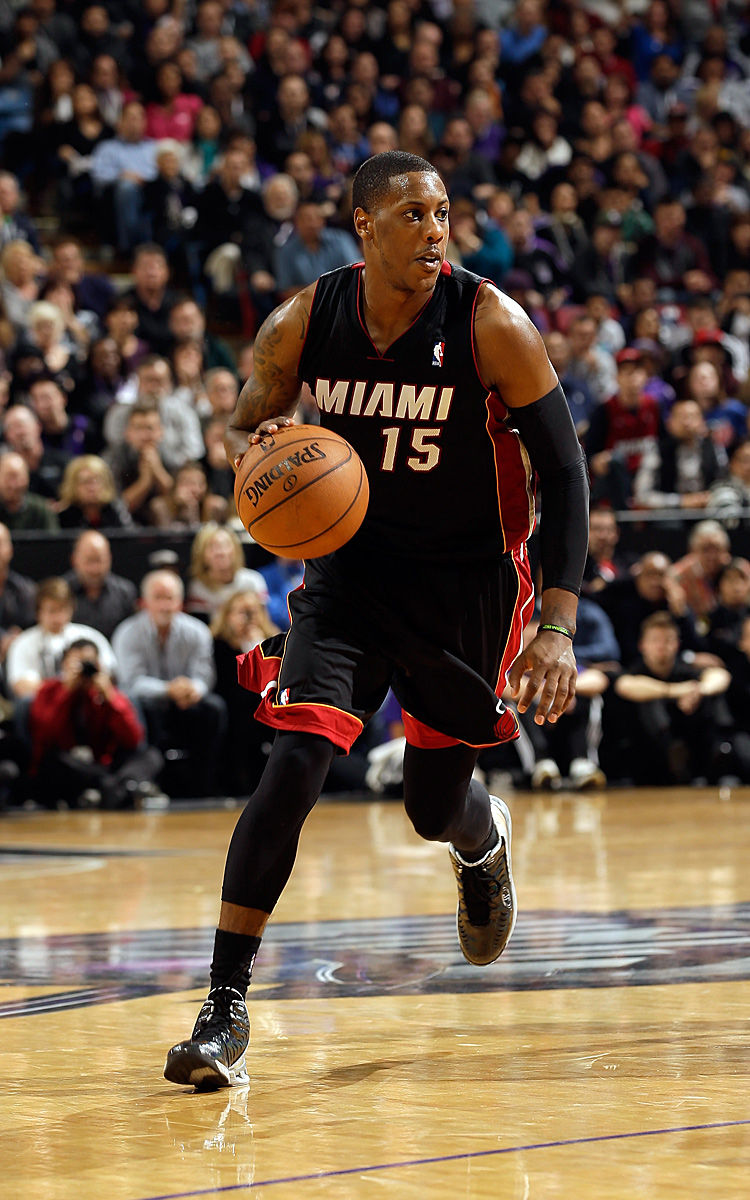 Point Guard: Mario Chalmers (9,3 Punkte, 5,1 Assists, 1,91 Steals)