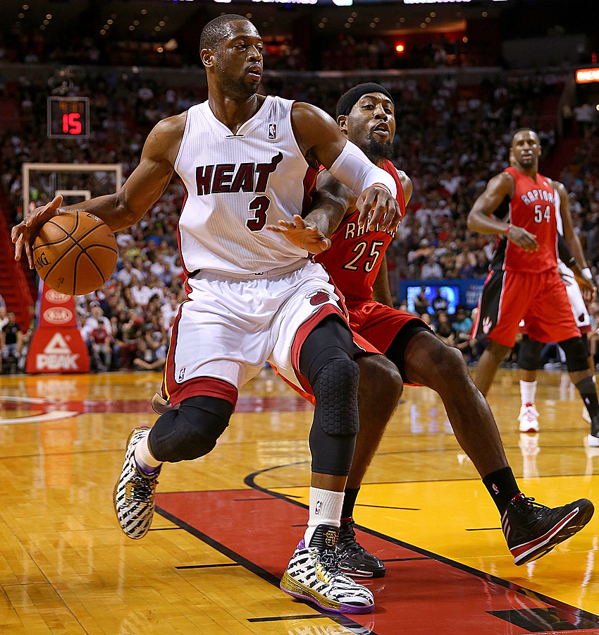 Shooting Guard: Dwyane Wade (18,9 Punkte, 4,8 Rebounds, 4,7 Assists, 1,8 Steals)