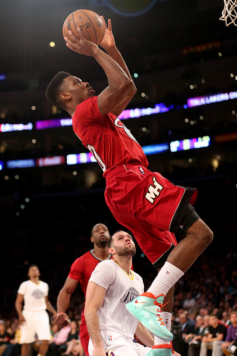 Norris Cole (Point Guard, 41 Prozent 3FG, 3,2 Assists)