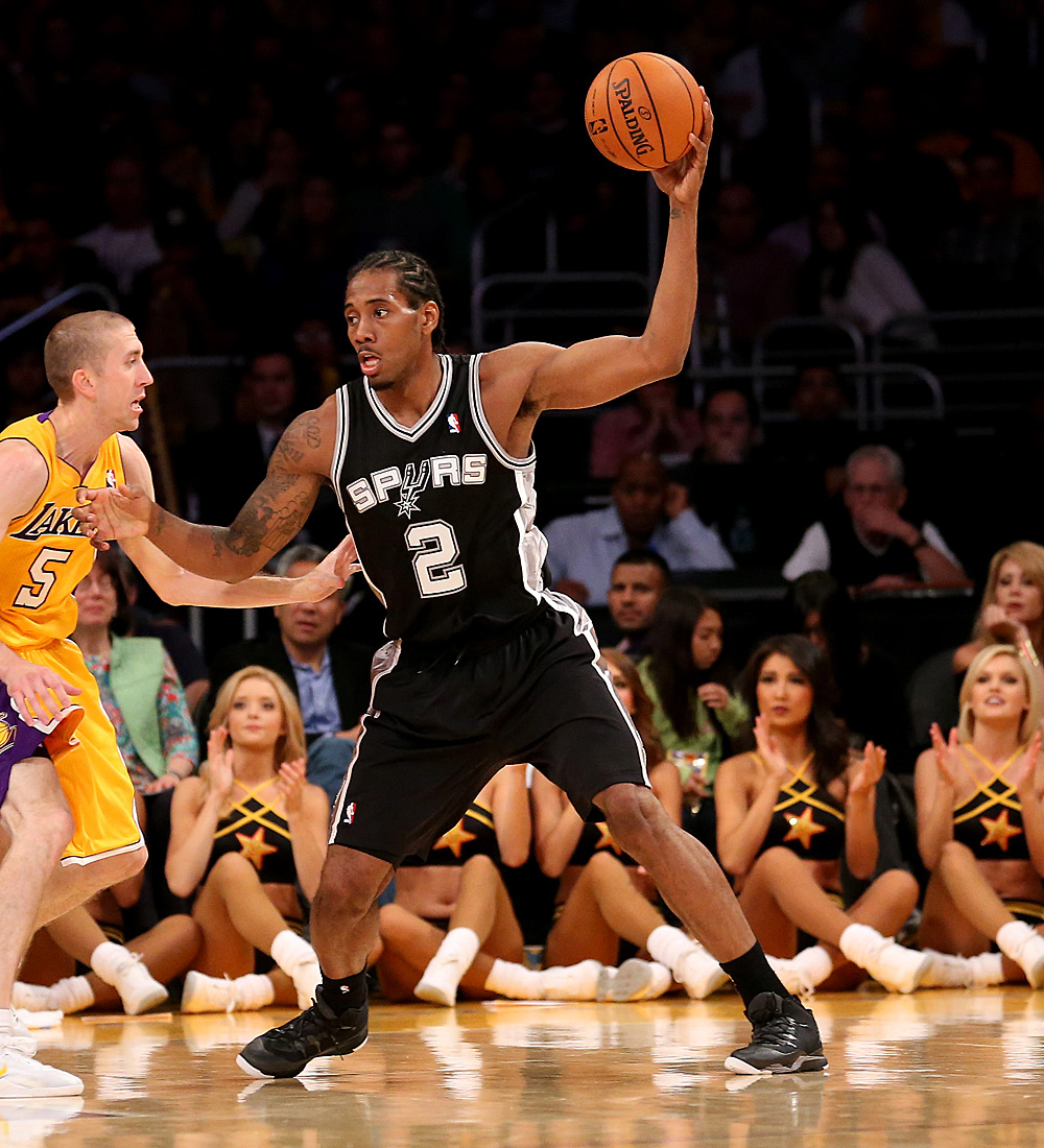 Small Forward: Kawhi Leonard (11,8 Punkte, 6,2 Rebounds)