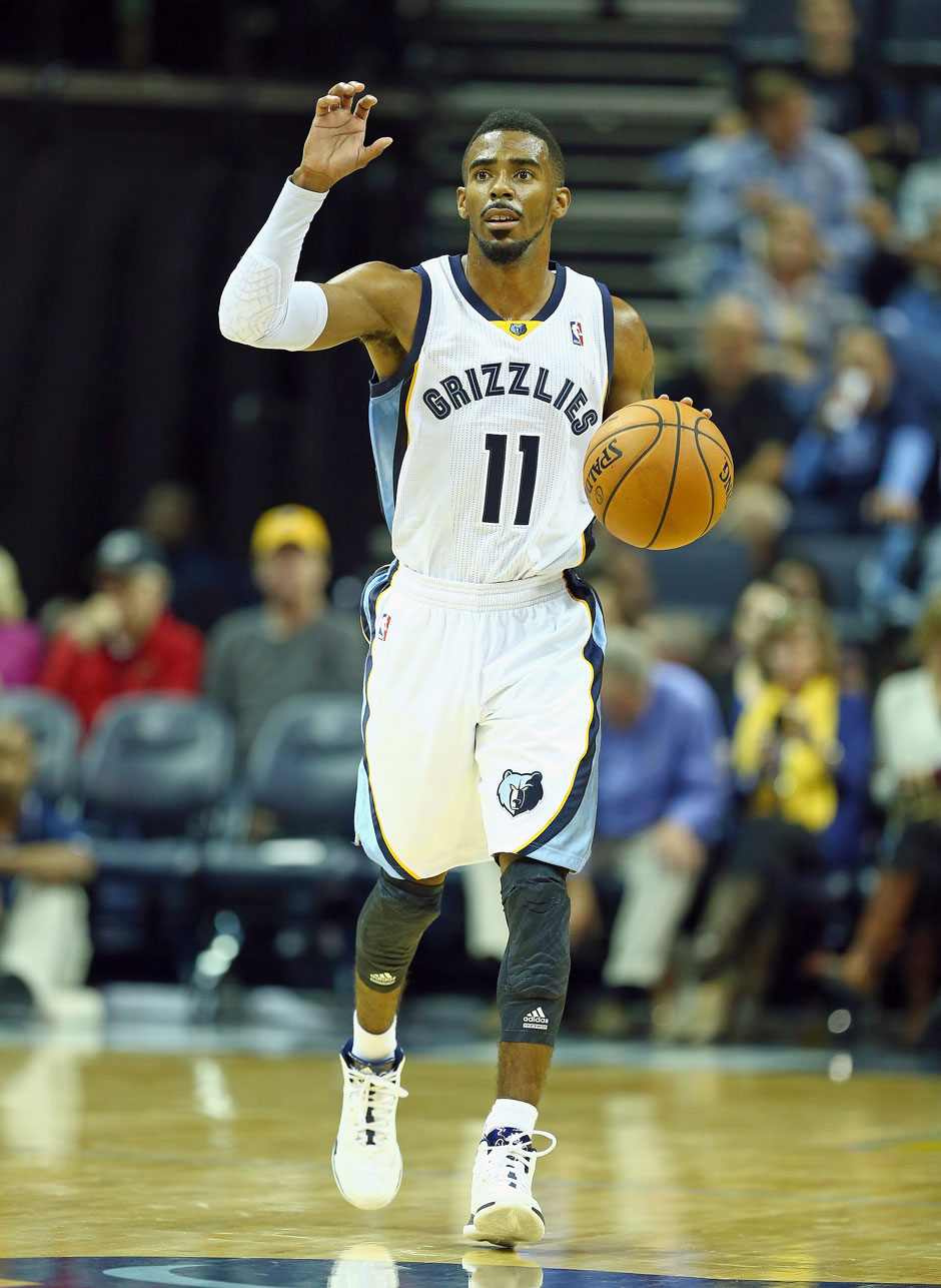 Point Guard: Mike Conley (17,3 Punkte, 6,3 Assists)