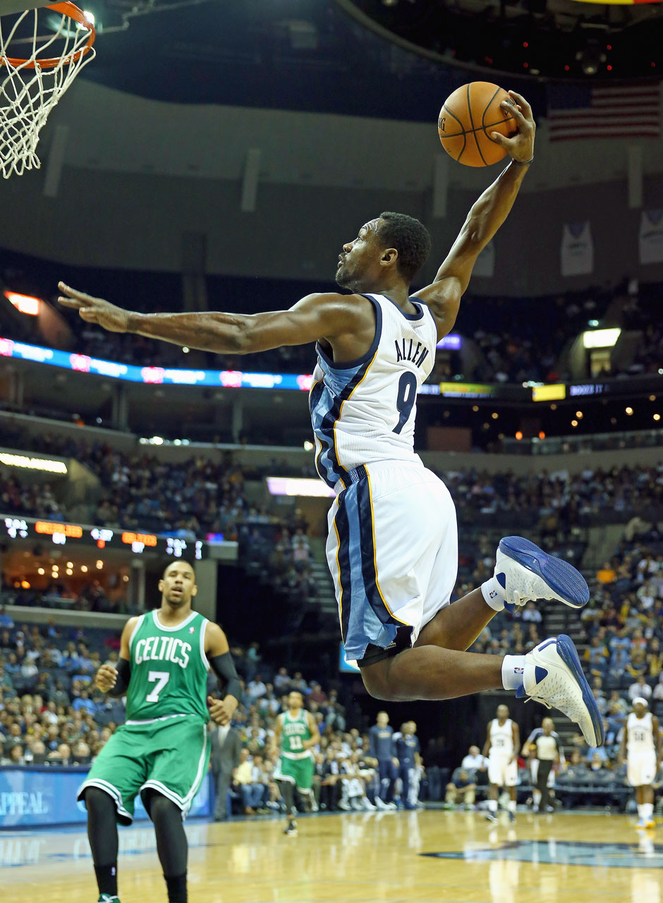 Shooting Guard: Tony Allen (10,6 Punkte, 4,0 Rebounds)