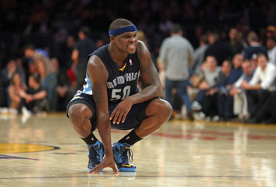 Power Forward: Zach Randolph (16,7 Punkte, 10,0 Rebounds)