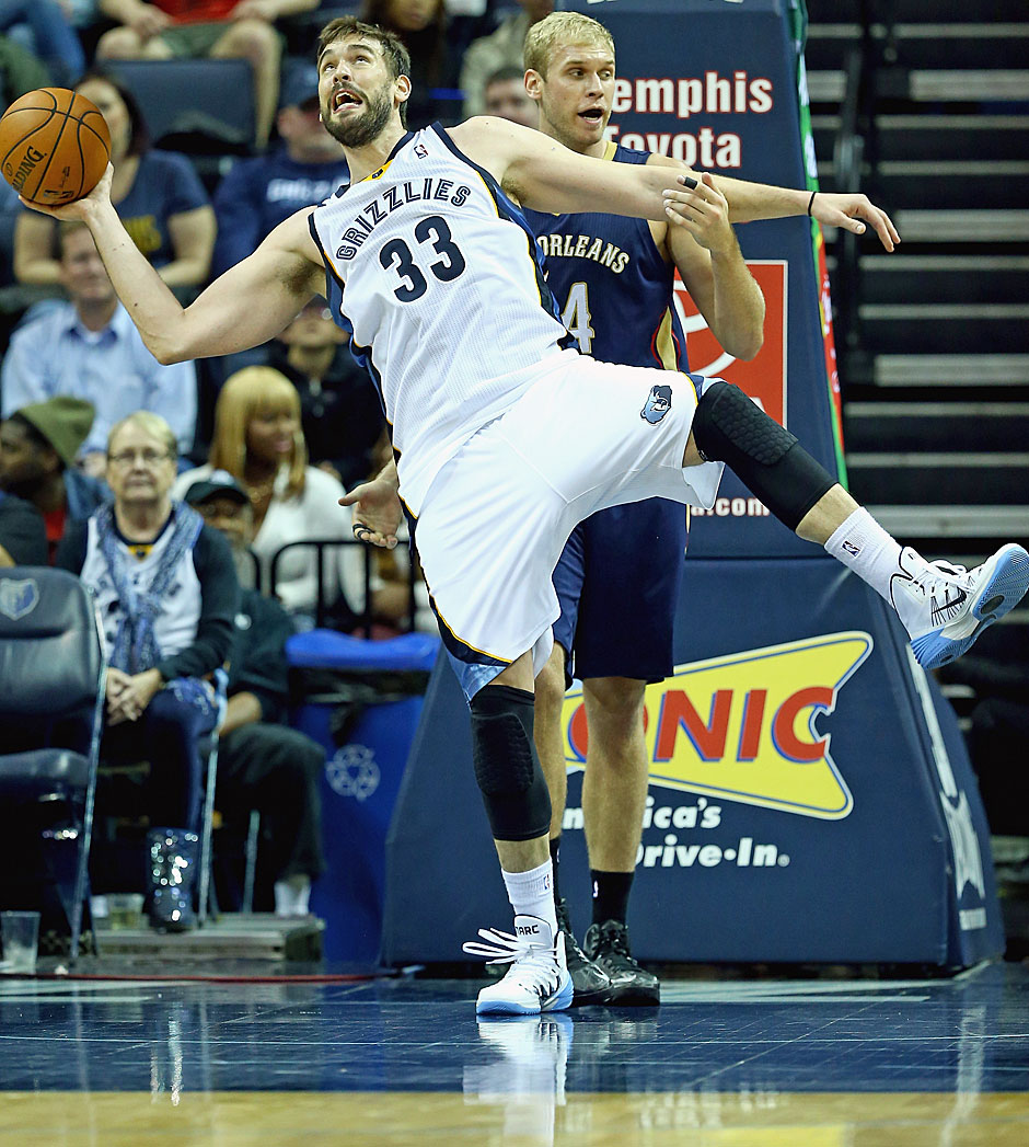 Center: Marc Gasol (verletzt, 16 Punkte, 7,1 Rebounds, 4,3 Assists)