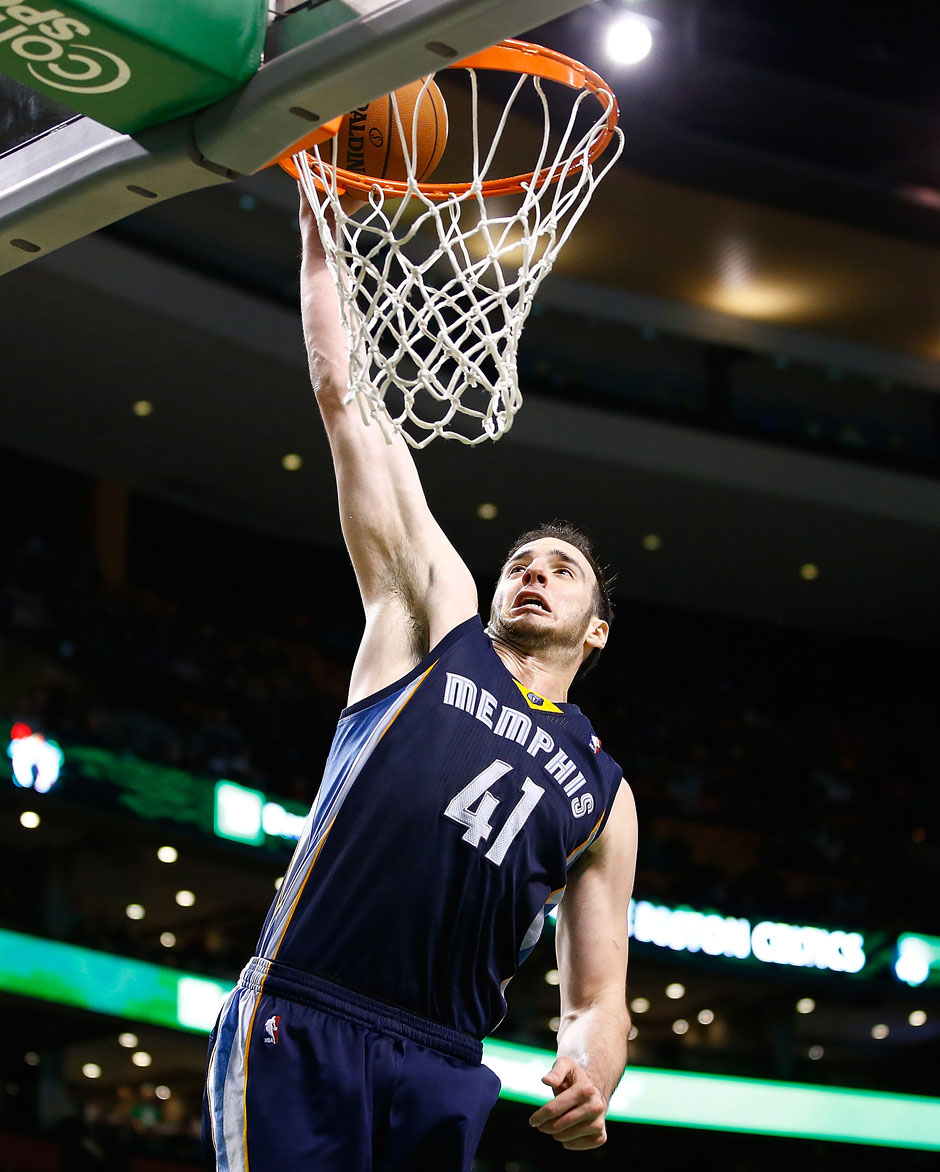 Bank: Kosta Koufos (Center, 7,5 Punkte, 7,2 Rebounds)