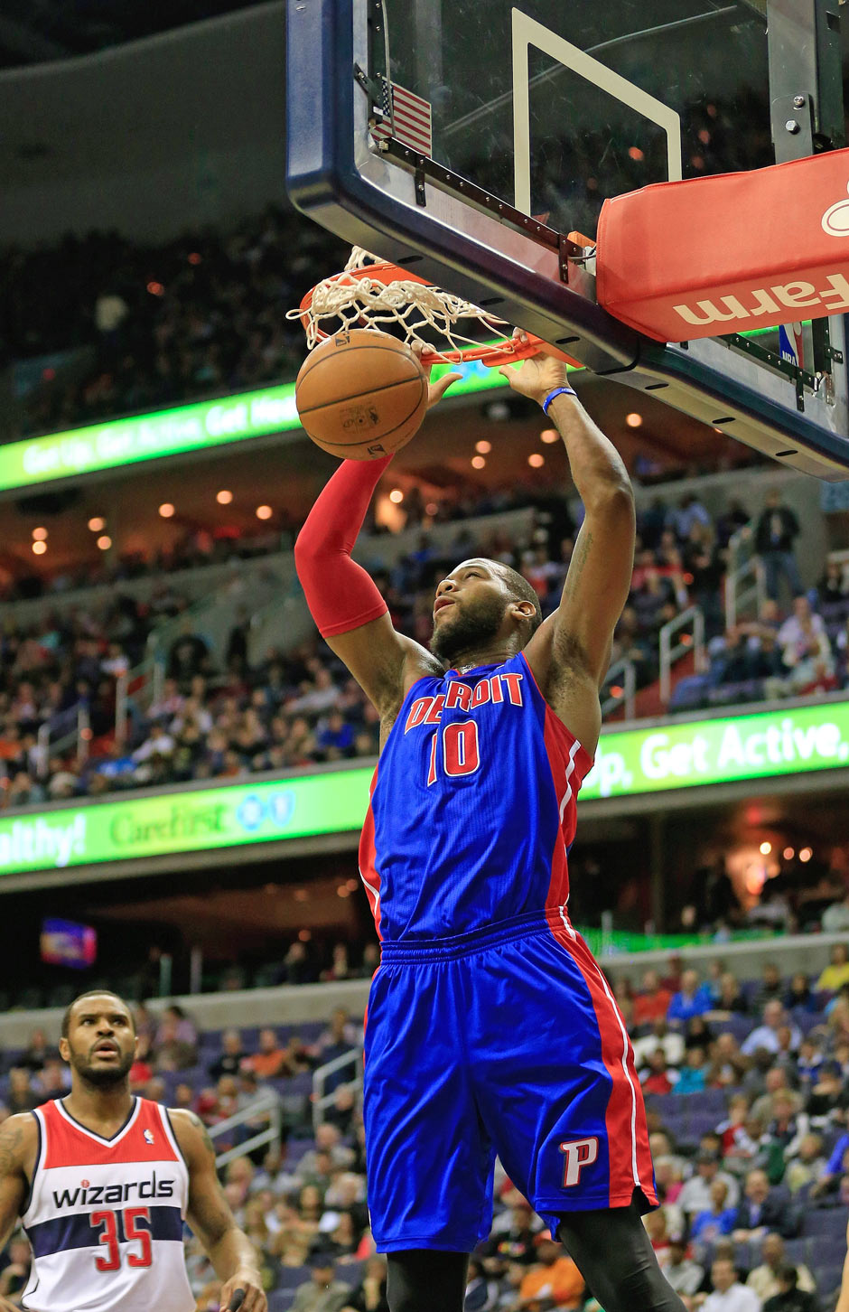Power Forward: Greg Monroe (14,5 Punkte, 8,9 Rebounds)